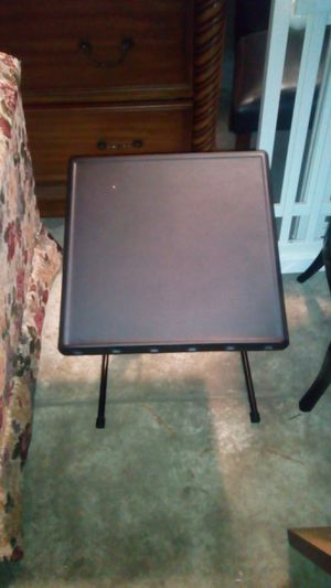 SMALL BLACK FOLDING TABLE/DESK for Sale in Philadelphia, PA