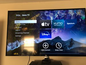 """55"""" TCL Roku Smart TV for Sale in Gainesville, GA"""