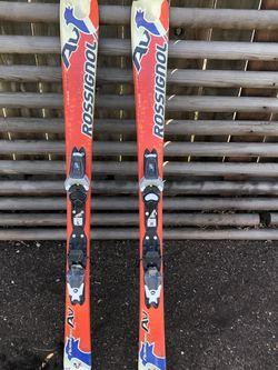 120cm Rossignol Skis With Rossignol Bindings for Sale in Kingsburg,  CA