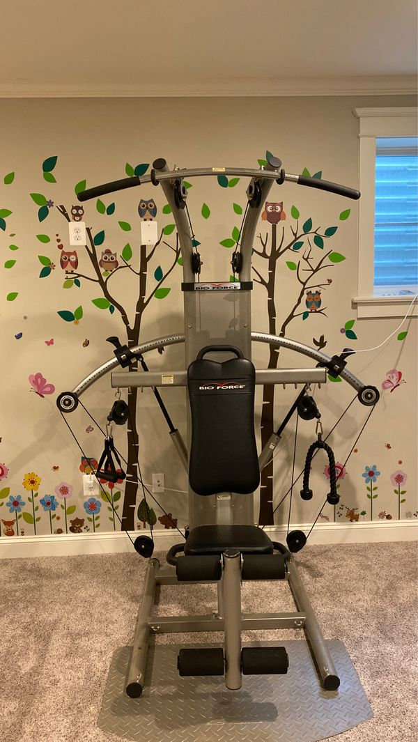 Bio force workout machine basically new