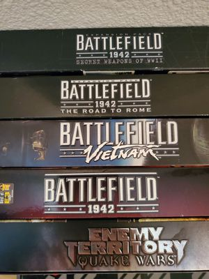 Battlefield collection PC Games for Sale in Ridgefield, WA