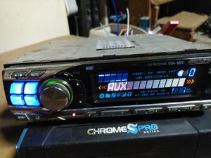 High end!! Alpine CDA-9851 With auxiliary and Bluetooth adapter!! for Sale in Indianapolis, IN
