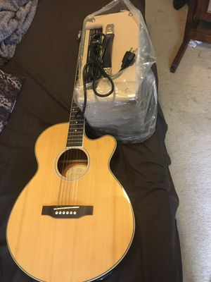 Music instruments, Guitar Epiphone, electric amp for Sale in Washington, DC