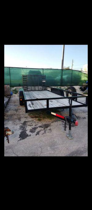 6 x16 utility trailer for Sale in Miami, FL