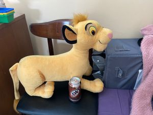 Large Lion king SIMBA 2002 Disney plush stuffed animal for Sale in Broadview Heights, OH
