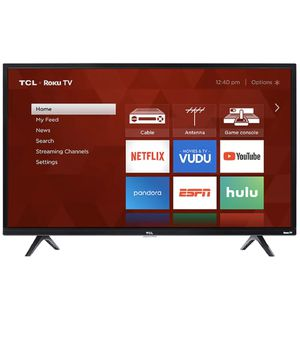 """TCL 32"""" Class HD (720P) Roku Smart LED TV (32S321) for Sale in View Park-Windsor Hills, CA"""