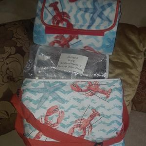Lobster theme cooler bag With Mat for Sale in Cranston, RI