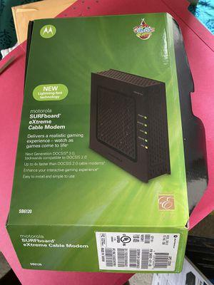 Cable modem - Docsis 3.0, SB6120 for Sale in Pleasanton, CA