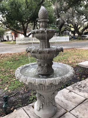 New solid concrete fountain for Sale in Plant City, FL