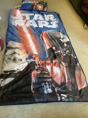 StarWars Blanket/Sleeping Bag with Pillow for Sale in Scottsdale, AZ