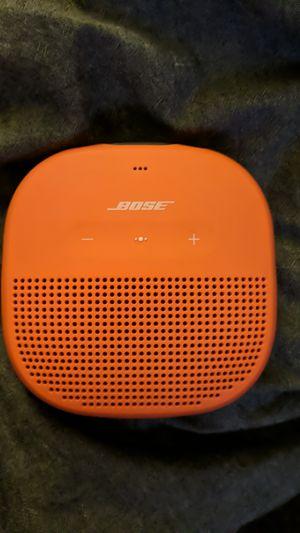 Bose Soundlink Micro bluetooth Speaker Orange for Sale in Tempe, AZ