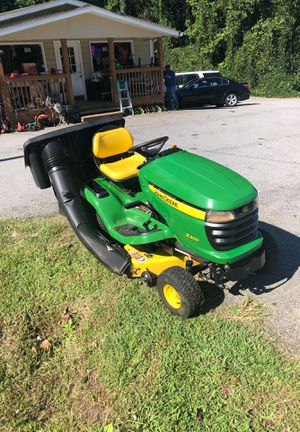 John Deere Lawn Tractor X300 38 inch Cut Bagger included $1150 Firm for Sale in Dallas, GA