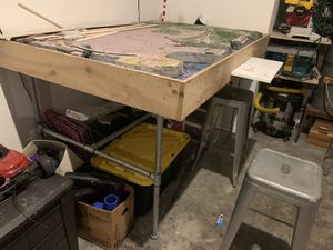 Train table - work bench for Sale in Tigard, OR