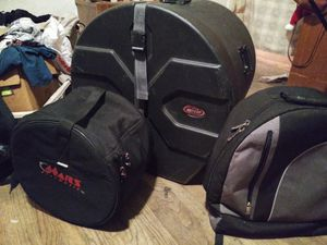 Drum travel cases (3 Pcs) for Sale in Fresno, CA