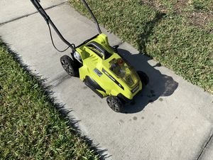 Ryobi cordless lawn mower for Sale in Kissimmee, FL