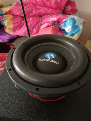 Nemesis 12inch subs....2000watts RMS....true beast and takes juice like a lil baby $300firm for Sale in Dallas, TX