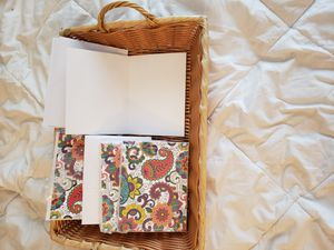 Blank thank you Cards and basket for Sale in Newburgh, IN