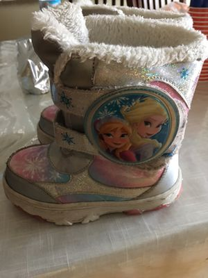 Frozen girls boots for Sale in Wyoming, MI