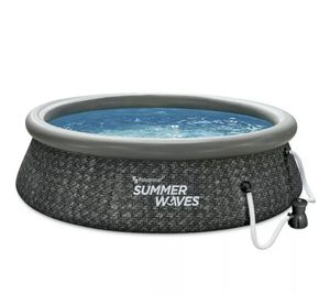 "Summer Waves 10' x 30"" easy set above ground pool with pump for Sale in Chantilly, VA"
