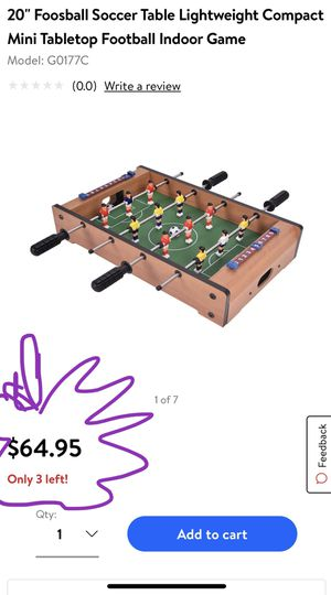 """20"""" Foosball Soccer Table Lightweight Compact Mini Tabletop Football Indoor Game,Kids toy, toys for Sale in San Diego, CA"""