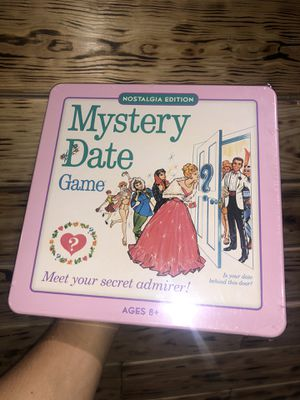 Mystery Date Classic Board Game With Nostalgic Tin Case for Sale in North Miami, FL