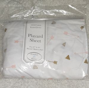 NEW- Girl's Playard sheet for Sale in Renton, WA