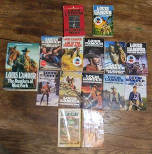 Louis L'Amour 15 book collection for Sale in Pineville, LA