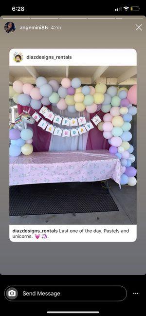 Balloon arrangements/ archs/ garlands for Sale in Upland, CA