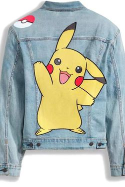 Levi's Pokémon Vintage Fit Trucker Jacket for Sale in Simi Valley,  CA