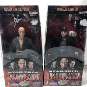 New Pair Of Star Trek Insurrection Action Figures! for Sale in Chino, CA