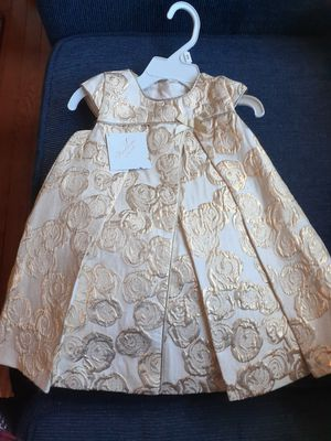 Baby girls christening dress brand new with tags.. Heirloom by Polly Flinders.. Size 12 to 18 months for Sale in Lake Park, NC