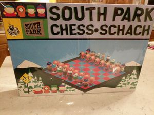 South Park chess schach for Sale in Yorkville, IL