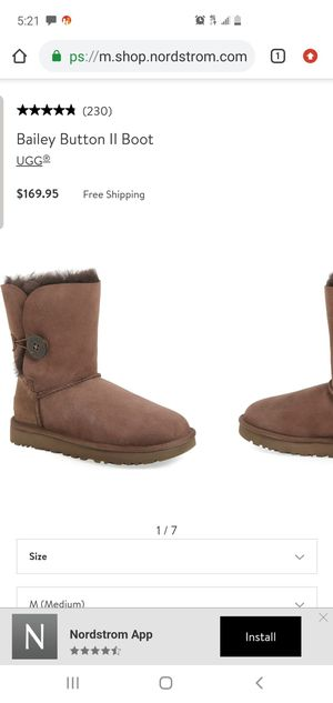 Authentic women's uggs size 7 for Sale in Fort Worth, TX