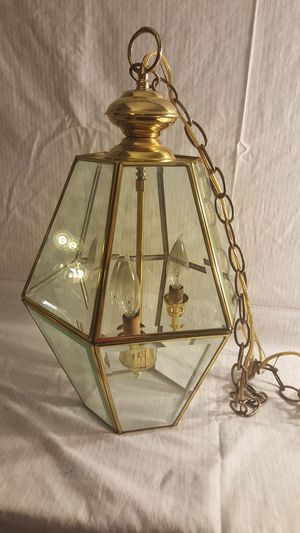 Brass light fixtures for Sale in Stockton, CA