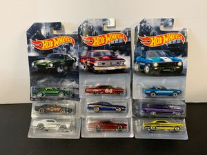 New Hot Wheels Walmart Exclusives Muscle Ford Buick Mercury Pontiac Chevrolet Shelby for Sale in Escondido, CA