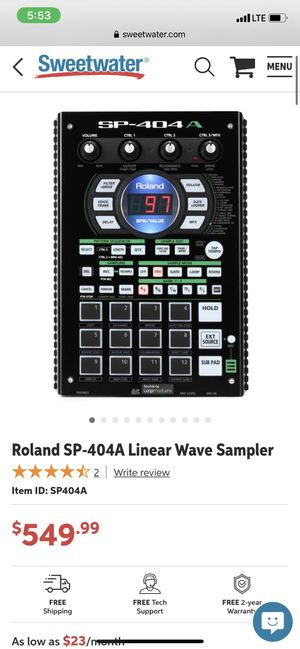 Roland sp-404a linear wave sampler for Sale in Orlando, FL