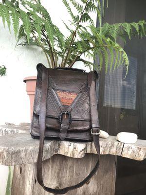 LEATHER SHOULDER BAG MESSENGER for Sale in Hollywood, FL