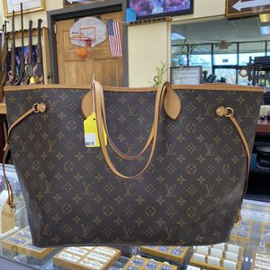 Authentic Louis Vuitton NeverFull GM for Sale in Norcross, GA
