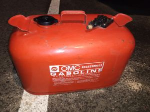 Gas tank for outboard boat motor. for Sale in Seattle, WA