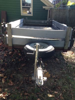 Utility trailer- looking for a good home, ready to be used. See it to appreciate it. for Sale in South Portland, ME