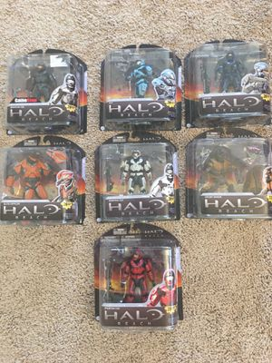 Halo Reach Series 2 Complete Collection. NIB. Exclusives and Rares. for Sale in Chandler, AZ
