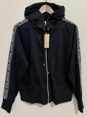 Michael Kors Logo-Striped Zippered Hoodie for Sale in Kenmore, WA