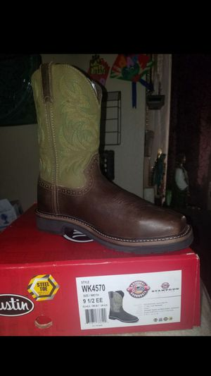 Justin work boots for Sale in Garland, TX