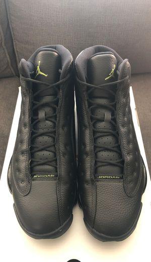 Men's Nike Air Jordan 13 XIII Retro Black Altitude Green Size 12 414571-042 for Sale in Hayward, CA