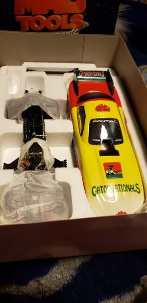 New for sale  the Box 1/ 24 scale funny cars 25 each for Sale