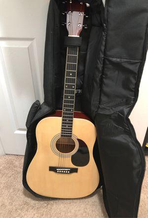 Glen Burton Acoustic Electric guitar with TKL Acoustic Guitar Bag for Sale in Arlington, VA