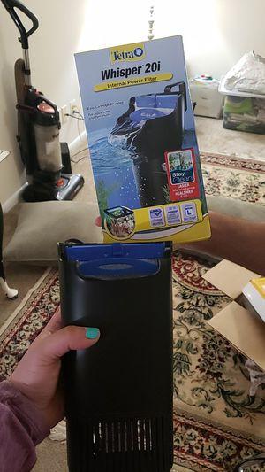 20gallon fishtank filter for Sale in Rockville, MD