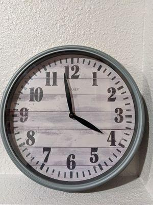 12 inch wall clock for Sale in Everett, WA