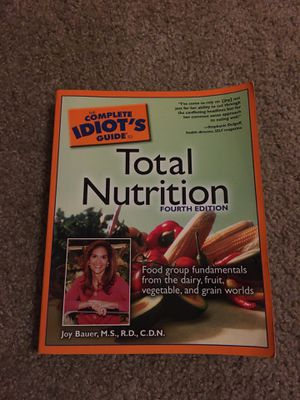 Total Nutrition Book for Sale in Gig Harbor, WA
