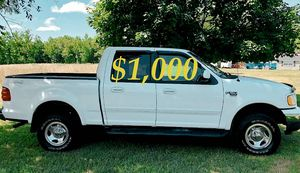 $1,000 URGENT For sale 2002 Ford F-150 XLT 4x4 Runs and drives great! for Sale in Billings, MT